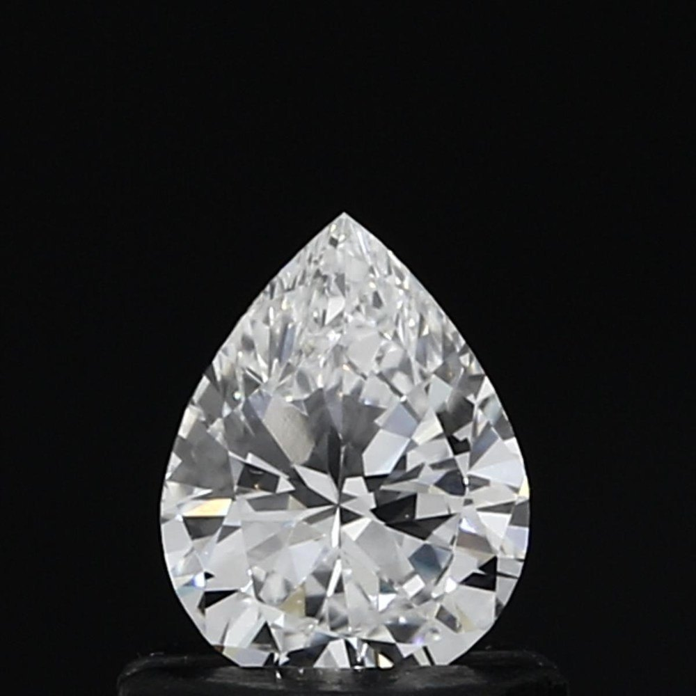 0.47 Carat Pear Loose Diamond, D, VS1, Excellent, GIA Certified