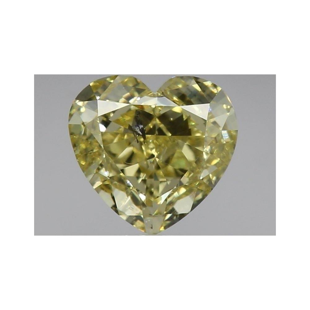 1.00 Carat Heart Loose Diamond, , I1, Ideal, GIA Certified