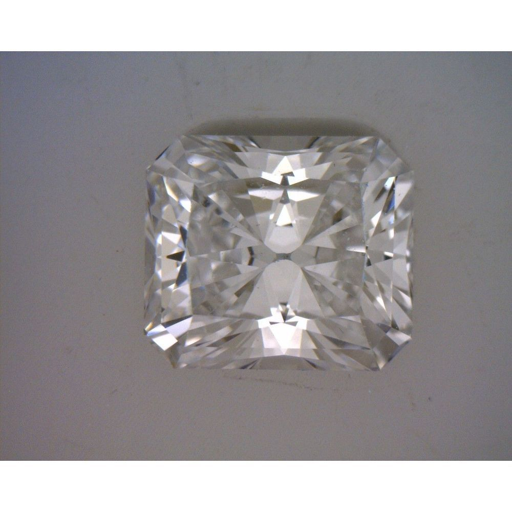 0.76 Carat Radiant Loose Diamond, D, VS2, Very Good, GIA Certified