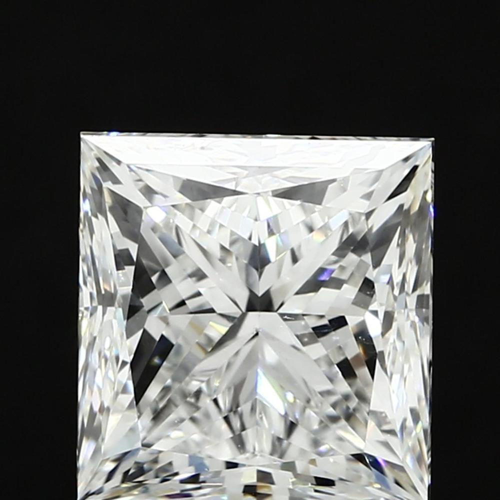 4.02 Carat Princess Loose Diamond, H, VS1, Ideal, GIA Certified