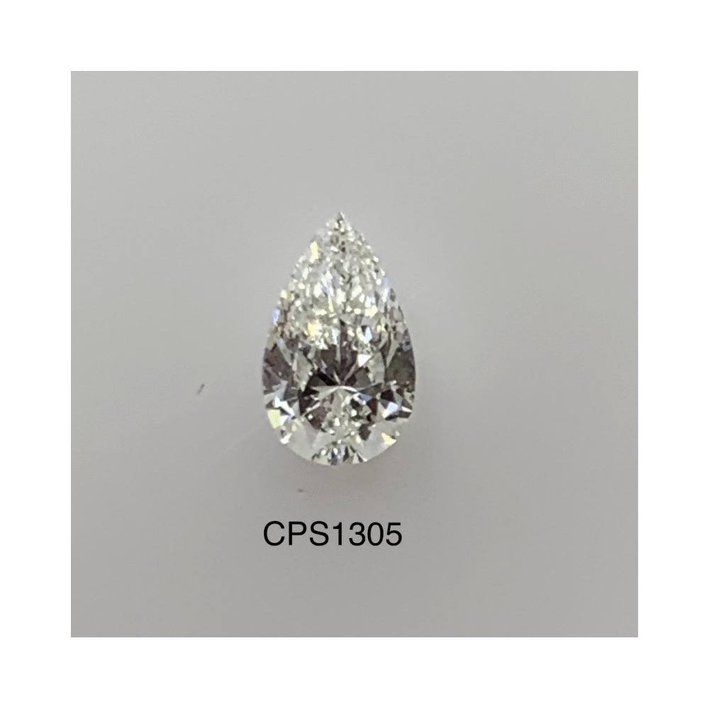 0.70 Carat Pear Loose Diamond, H, VS2, Super Ideal, GIA Certified | Thumbnail