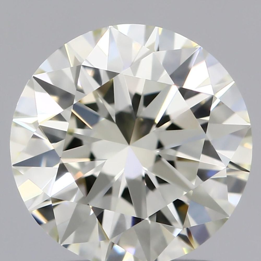 1.50 Carat Round Loose Diamond, L, IF, Super Ideal, GIA Certified