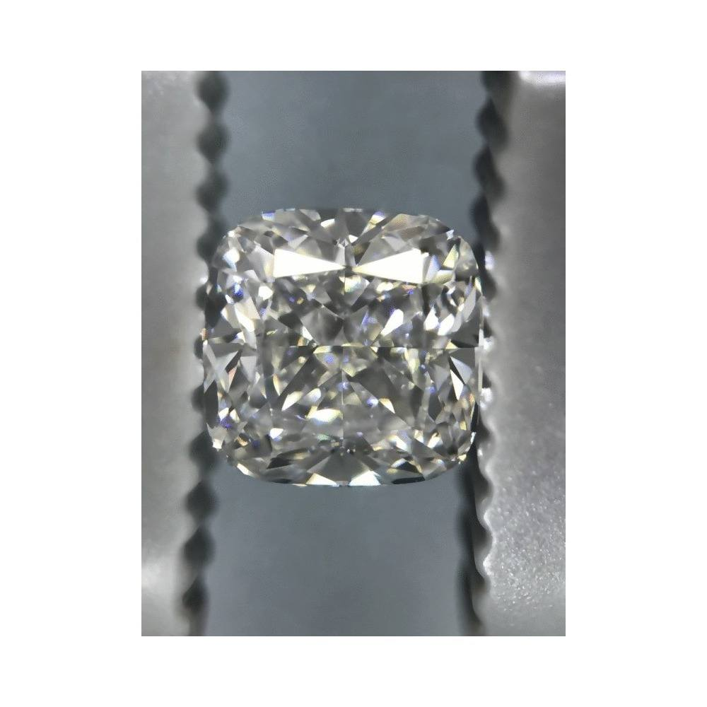 0.90 Carat Cushion Loose Diamond, G, VS1, Ideal, GIA Certified