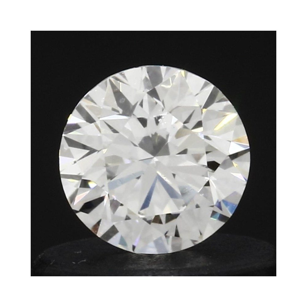 0.35 Carat Round Loose Diamond, H, VVS1, Super Ideal, GIA Certified