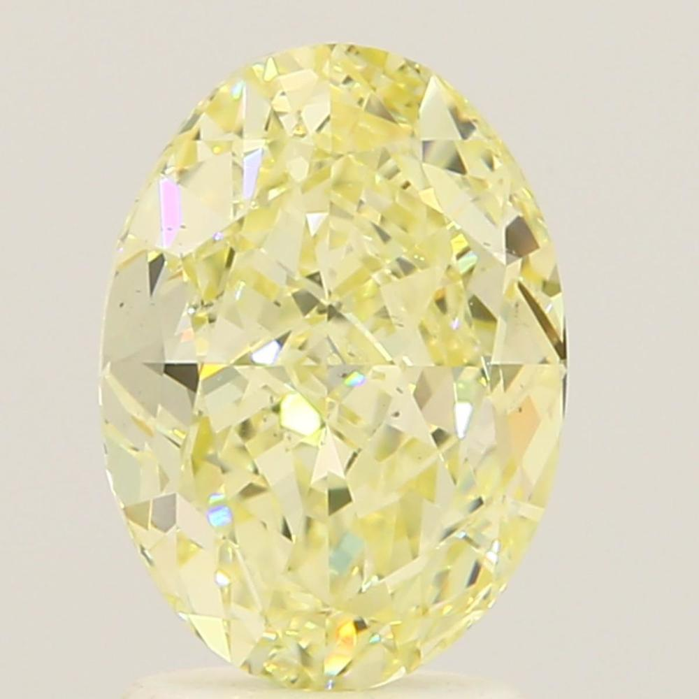 2.03 Carat Oval Loose Diamond, W-X, SI1, Super Ideal, GIA Certified