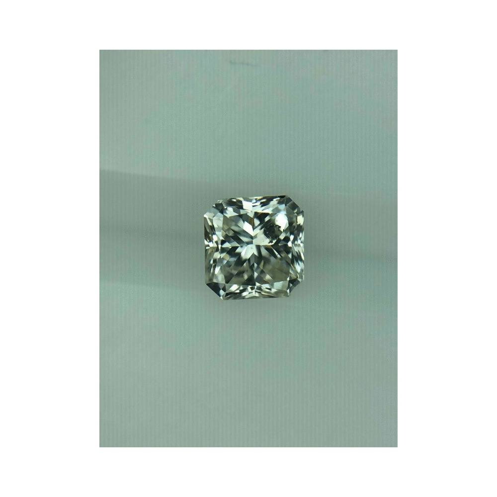 1.00 Carat Radiant Loose Diamond, L, SI2, Excellent, GIA Certified