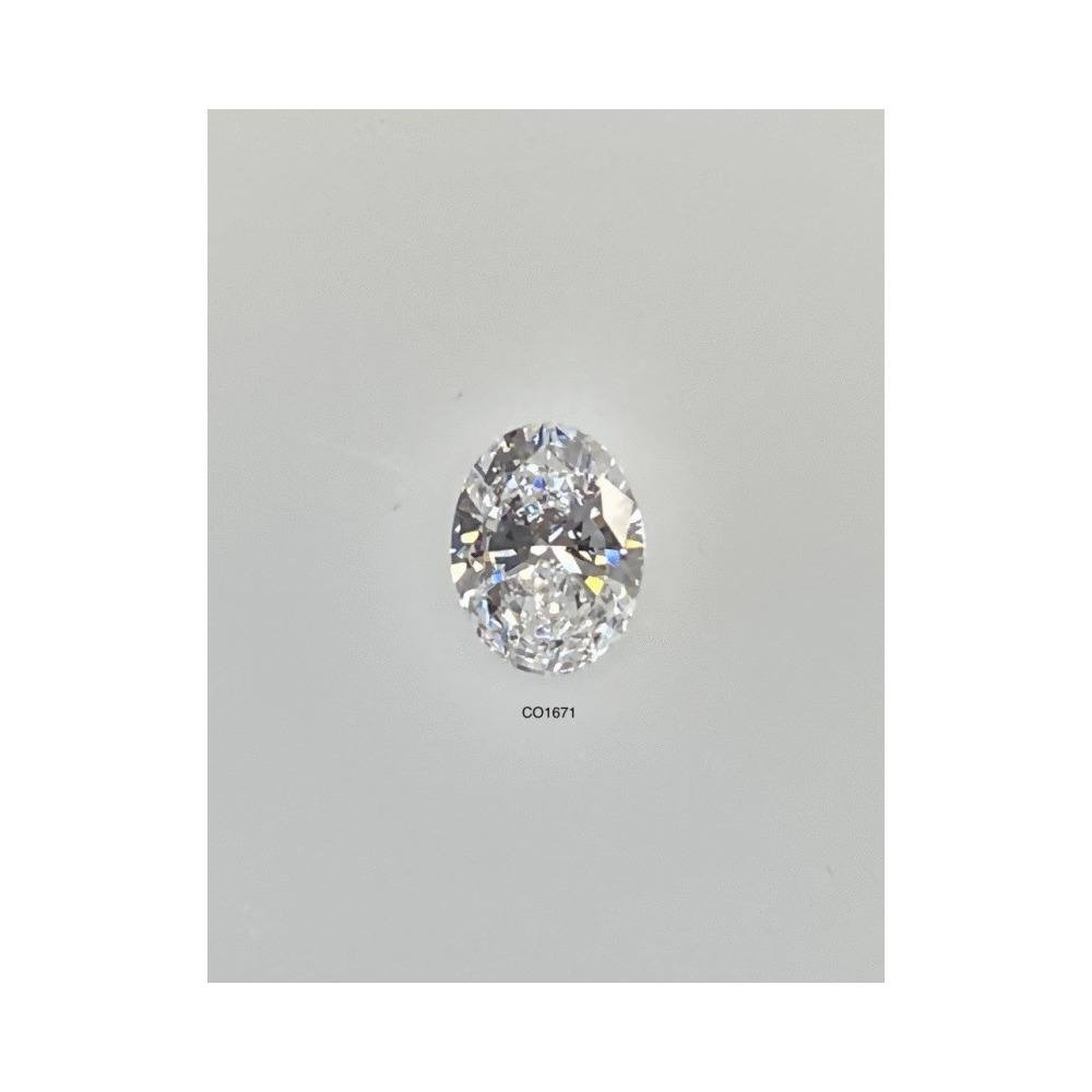 0.50 Carat Oval Loose Diamond, E, VS2, Super Ideal, GIA Certified