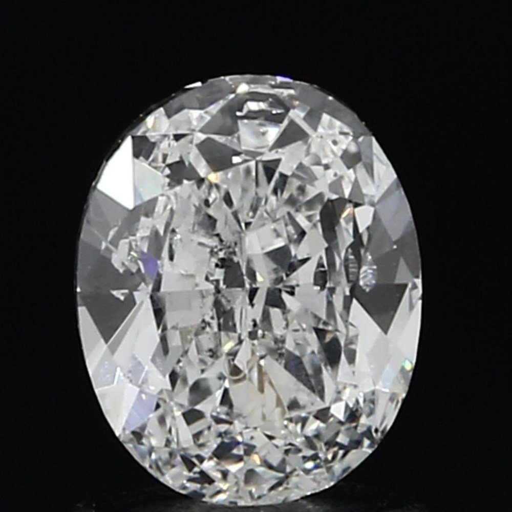 1.01 Carat Oval Loose Diamond, F, SI2, Ideal, GIA Certified | Thumbnail