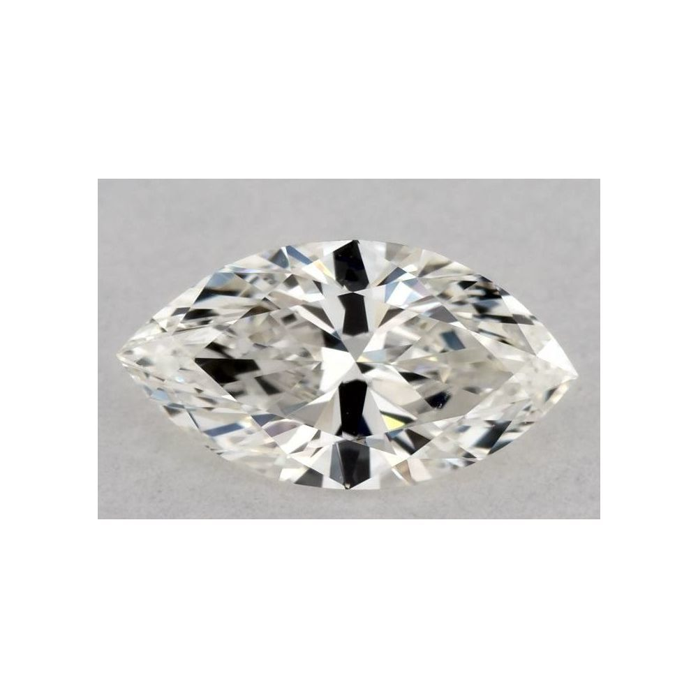 0.58 Carat Marquise Loose Diamond, H, VVS1, Ideal, GIA Certified