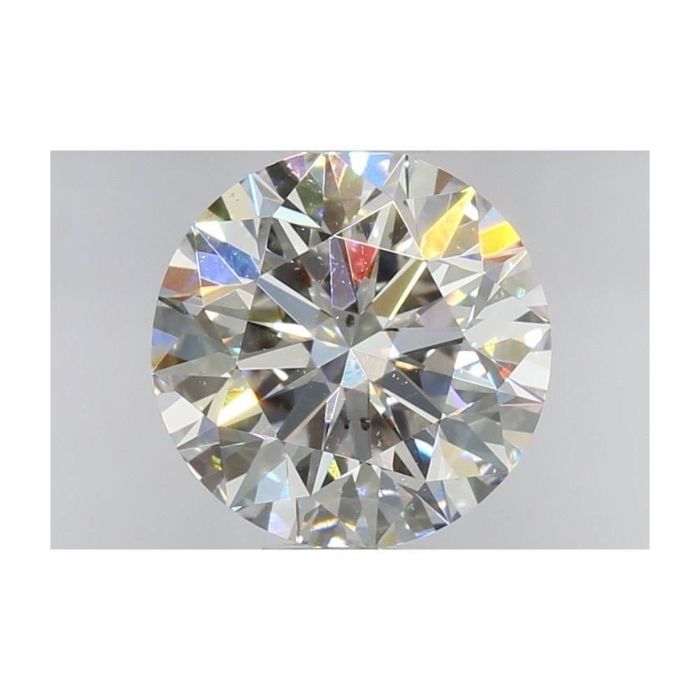 1.23 Carat Round Loose Diamond, E, SI1, Super Ideal, GIA Certified
