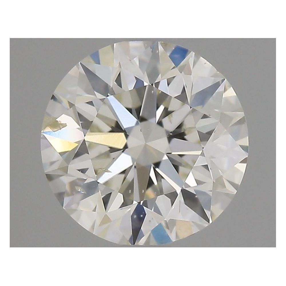 1.00 Carat Round Loose Diamond, J, SI2, Super Ideal, GIA Certified