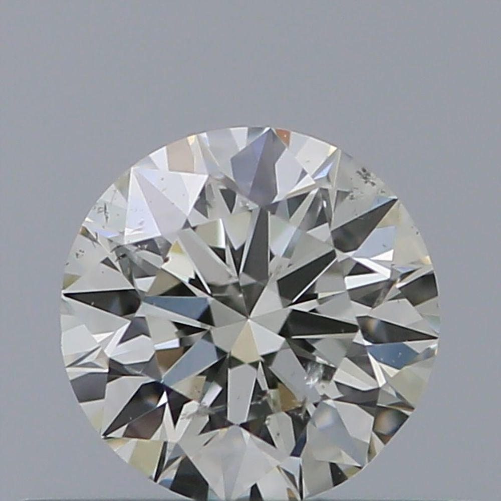 0.35 Carat Round Loose Diamond, K, SI1, Super Ideal, GIA Certified