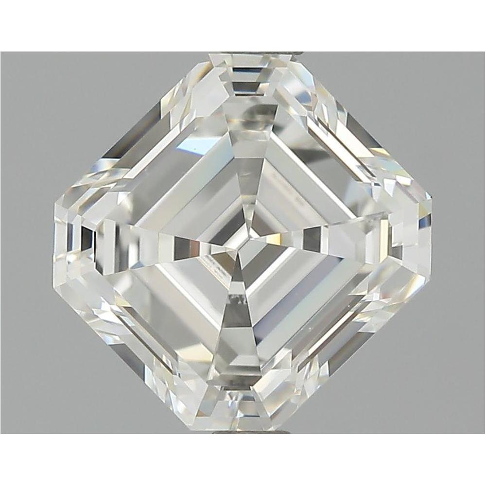 2.02 Carat Asscher Loose Diamond, H, IF, Super Ideal, GIA Certified