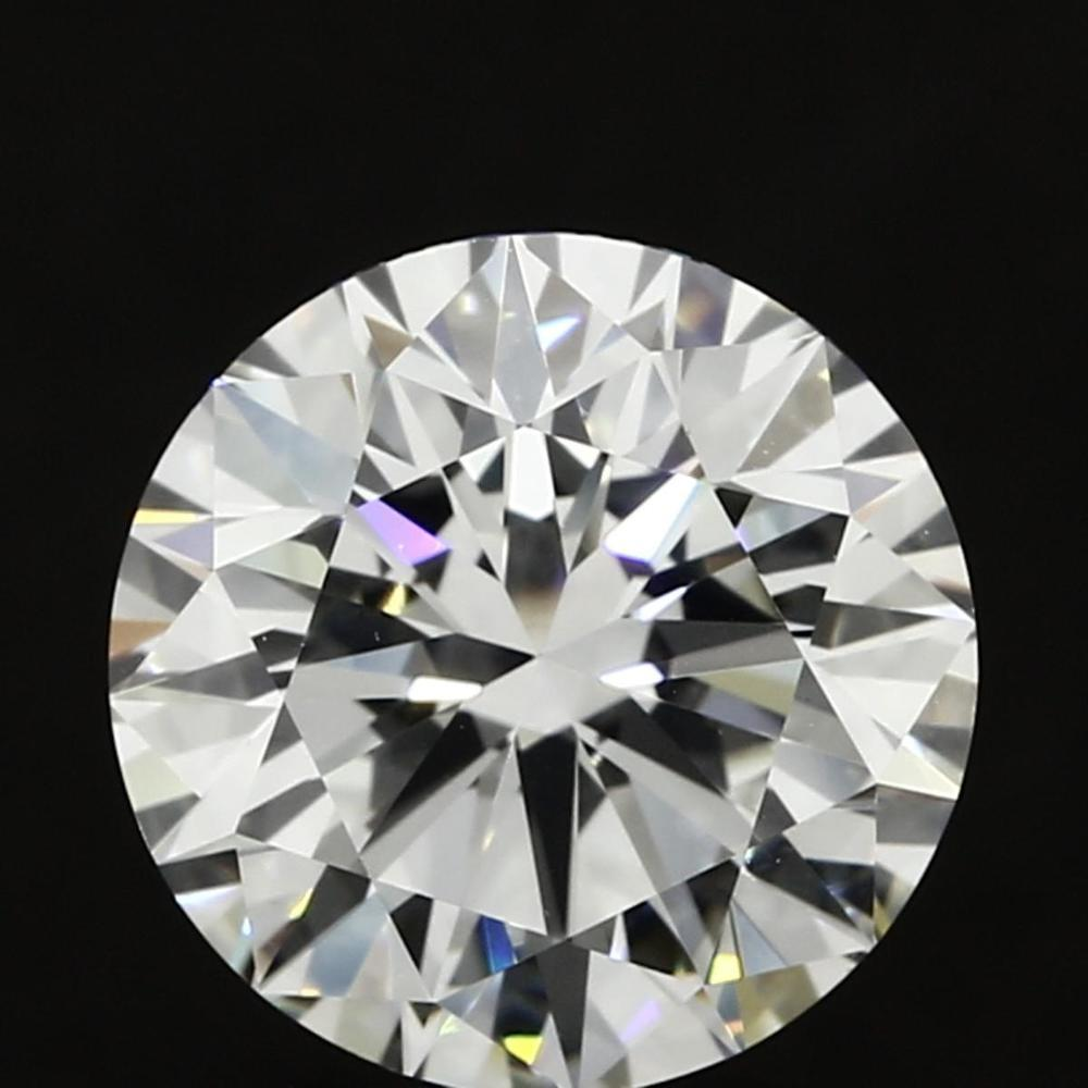 3.01 Carat Round Loose Diamond, I, VVS1, Super Ideal, GIA Certified