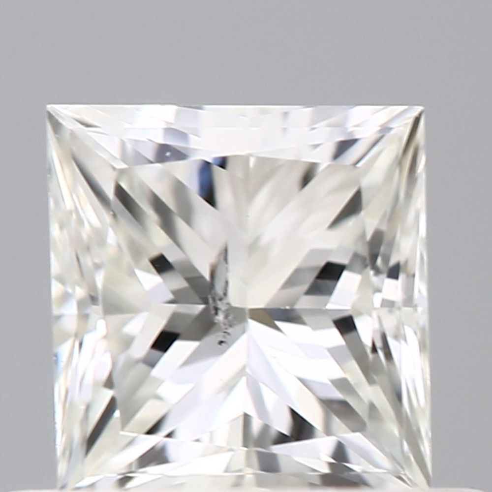 0.50 Carat Princess Loose Diamond, J, I1, Excellent, GIA Certified