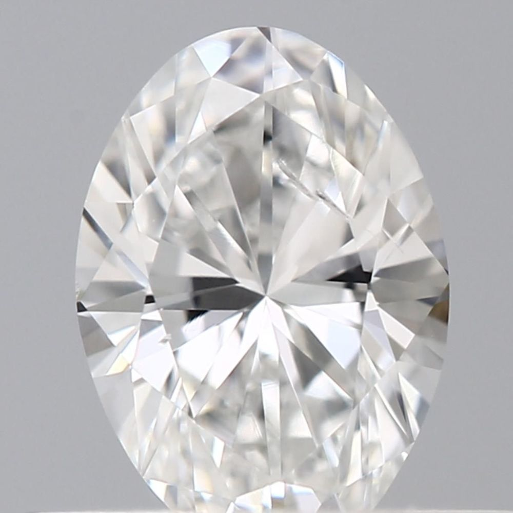 0.35 Carat Oval Loose Diamond, F, I1, Excellent, GIA Certified