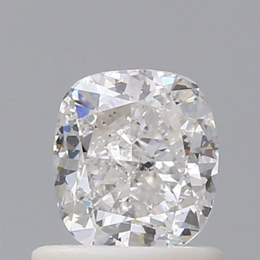 0.90 Carat Cushion Loose Diamond, D, SI1, Excellent, GIA Certified