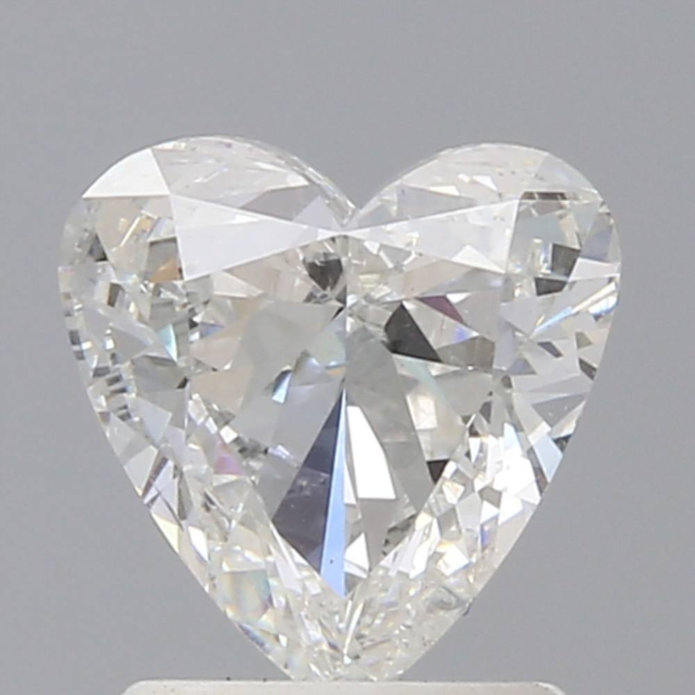 1.30 Carat Heart Loose Diamond, G, SI2, Excellent, GIA Certified