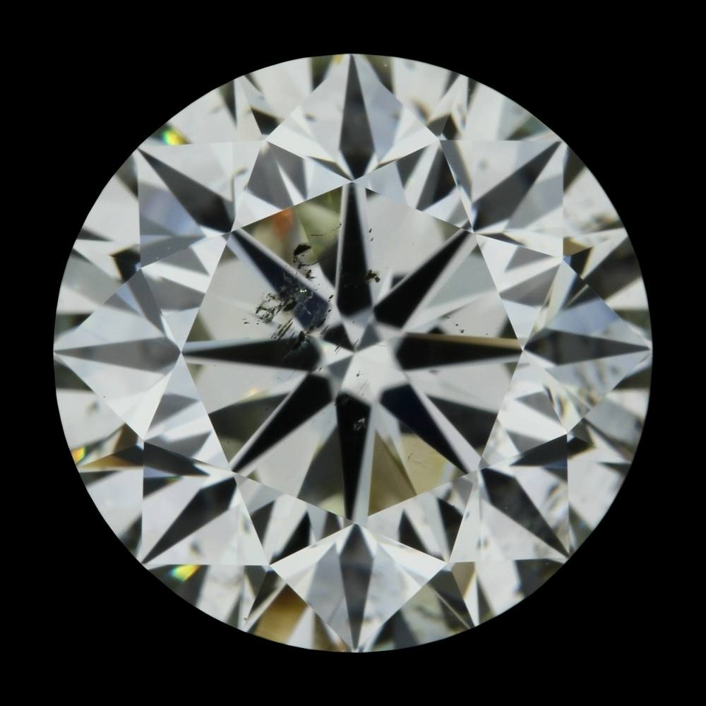 3.00 Carat Round Loose Diamond, L, SI2, Excellent, GIA Certified