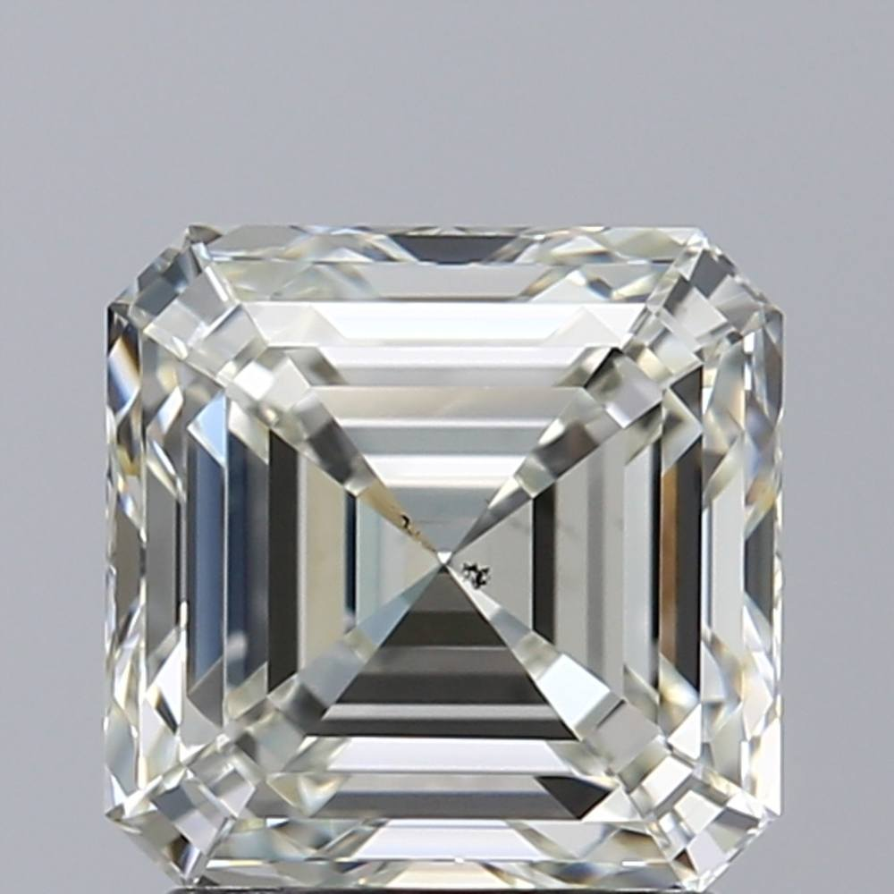 1.82 Carat Asscher Loose Diamond, J, VS2, Super Ideal, GIA Certified