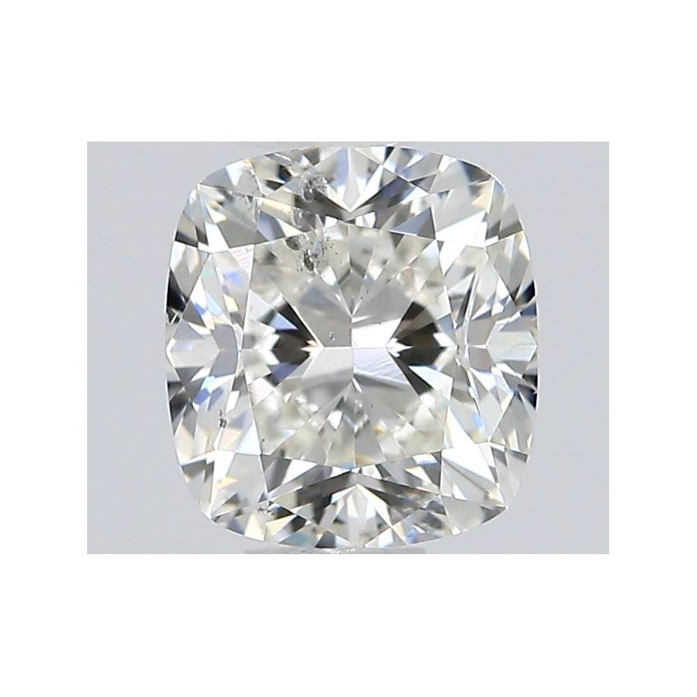 0.70 Carat Cushion Loose Diamond, J, SI2, Excellent, GIA Certified