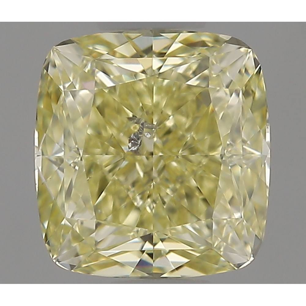1.04 Carat Cushion Loose Diamond, FLY, SI2, Super Ideal, GIA Certified