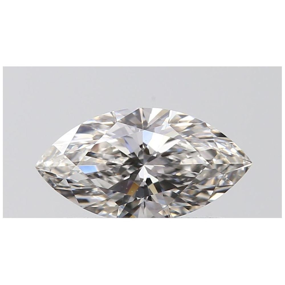 0.35 Carat Marquise Loose Diamond, H, VVS2, Super Ideal, GIA Certified