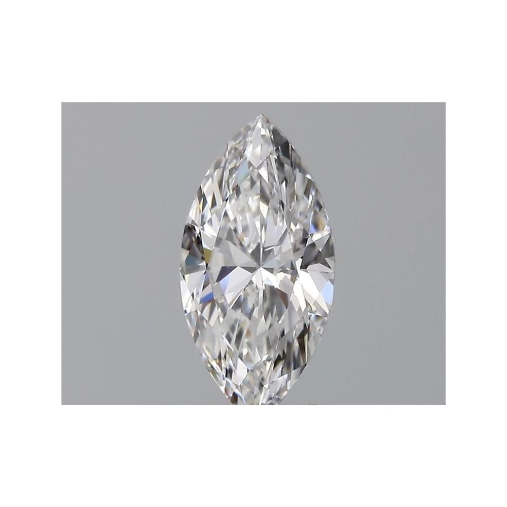0.60 Carat Marquise Loose Diamond, D, VS2, Ideal, GIA Certified