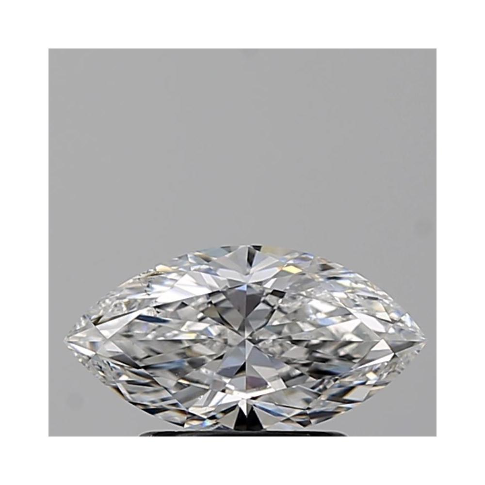 1.00 Carat Marquise Loose Diamond, D, VS2, Ideal, GIA Certified