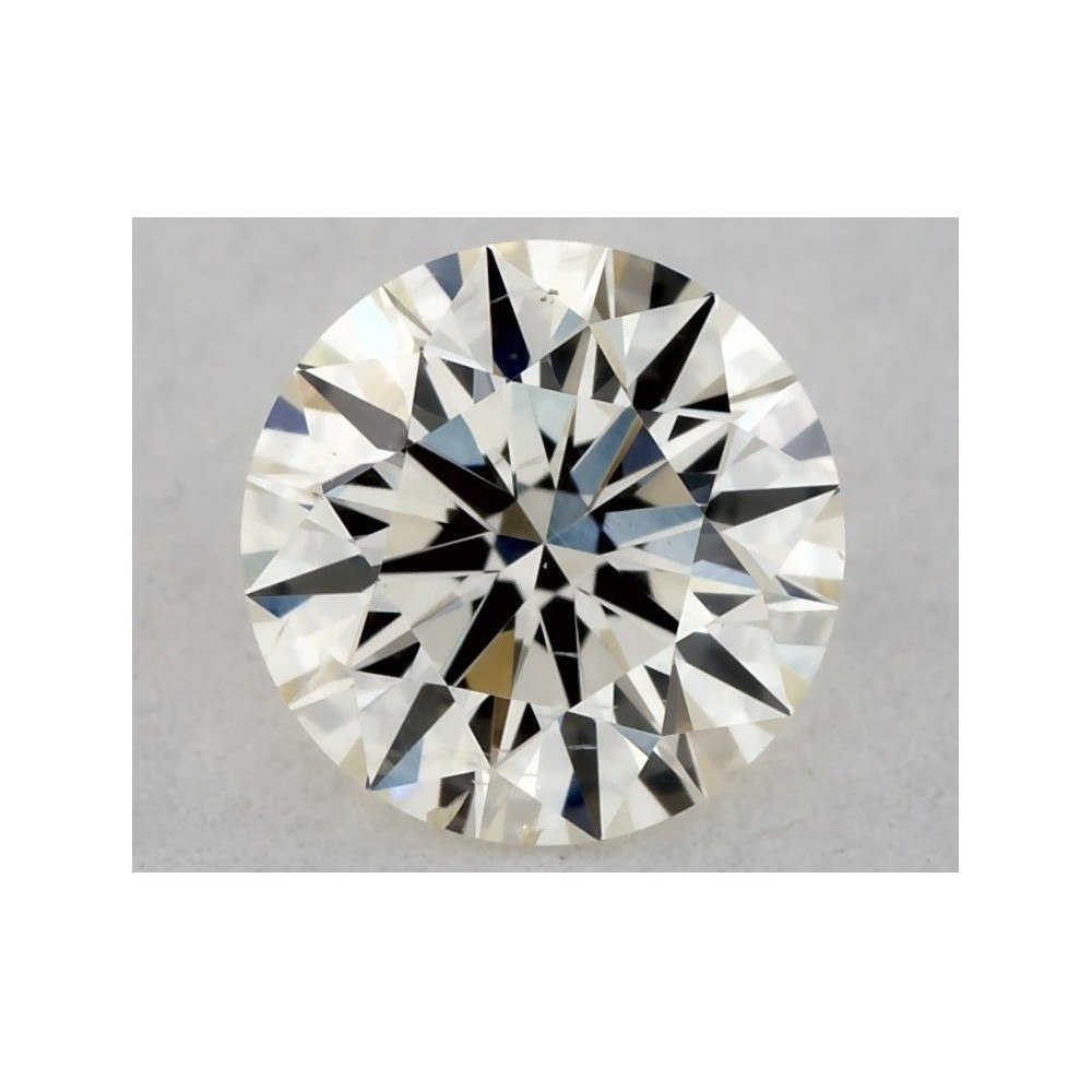 0.31 Carat Round Loose Diamond, K, SI2, Super Ideal, IGI Certified