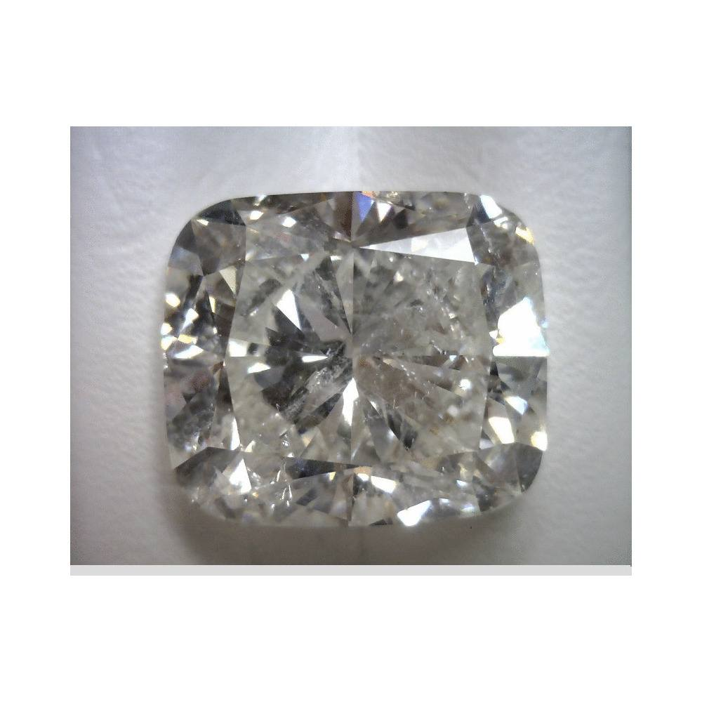 9.08 Carat Cushion Loose Diamond, G, SI3, Excellent, EGL Certified