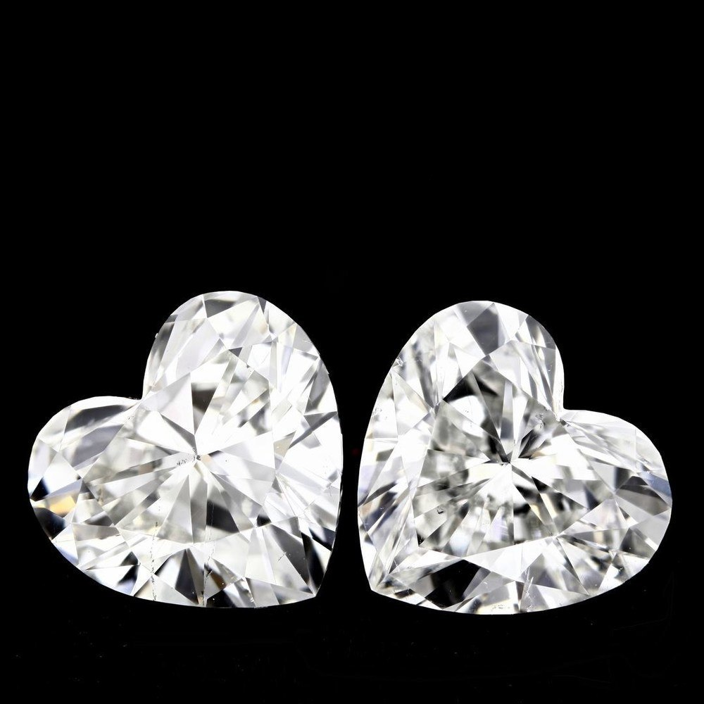 1.01 Carat Heart Loose Diamond, G, SI1, Excellent, GIA Certified