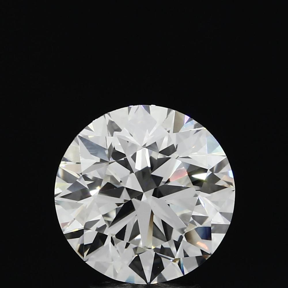 3.16 Carat Round Loose Diamond, H, VVS1, Super Ideal, GIA Certified | Thumbnail