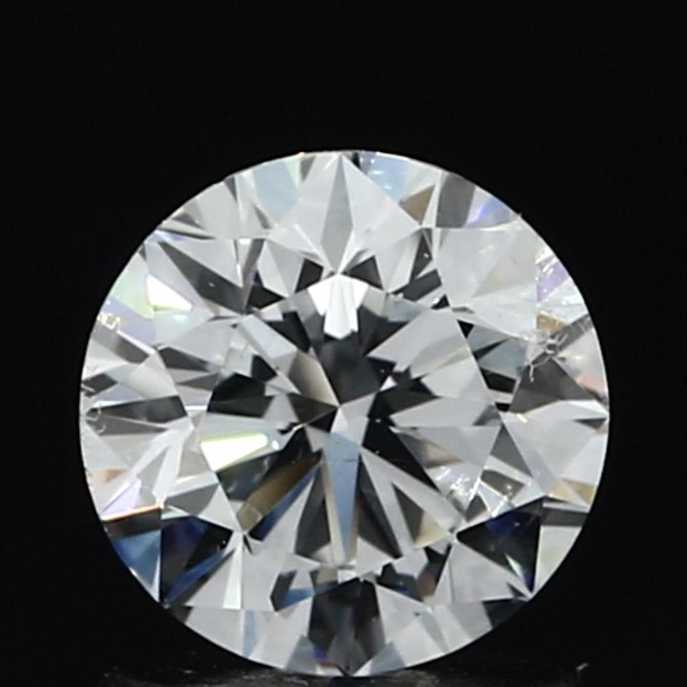 1.01 Carat Round Loose Diamond, D, SI1, Ideal, GIA Certified