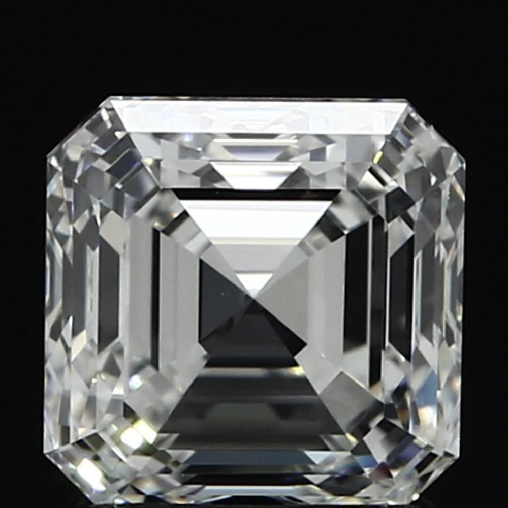 2.03 Carat Asscher Loose Diamond, G, VVS2, Super Ideal, GIA Certified