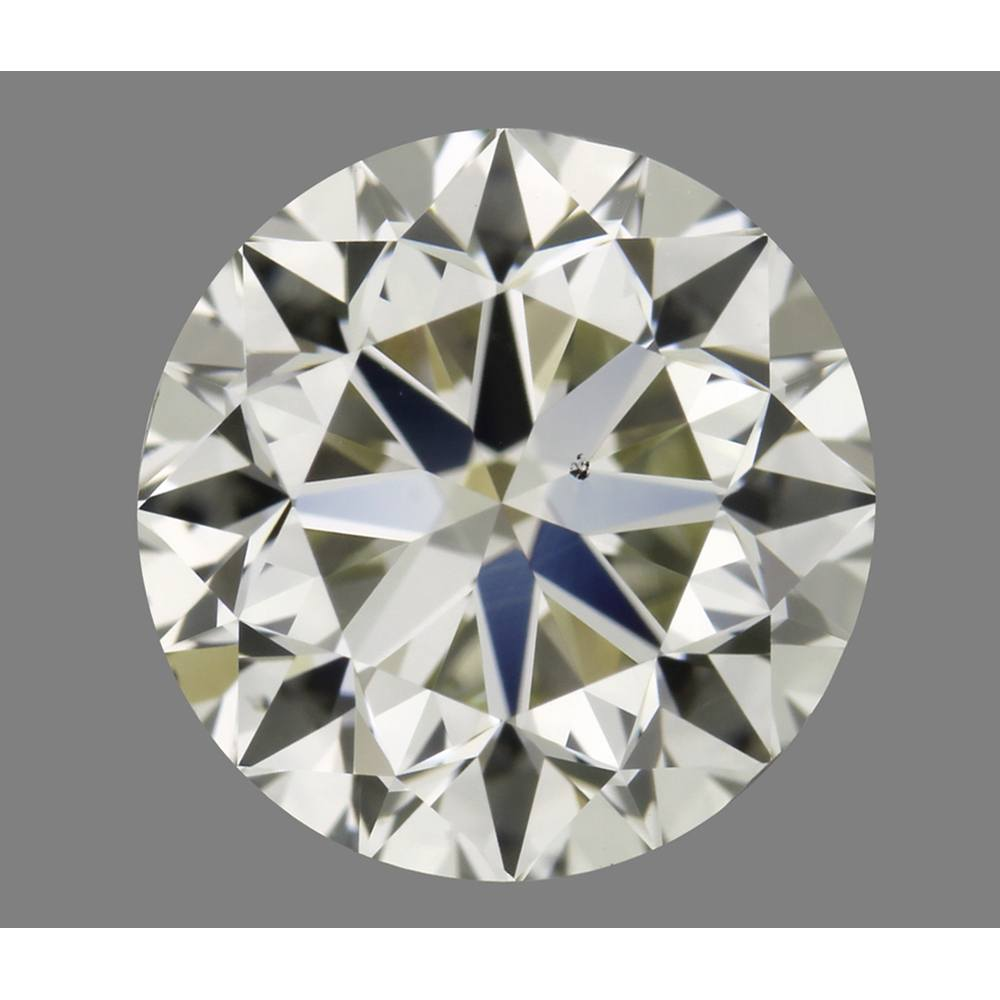 1.02 Carat Round Loose Diamond, N, VS2, Excellent, GIA Certified