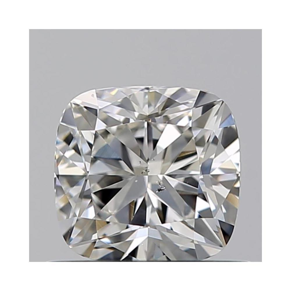 0.56 Carat Cushion Loose Diamond, G, SI1, Excellent, GIA Certified