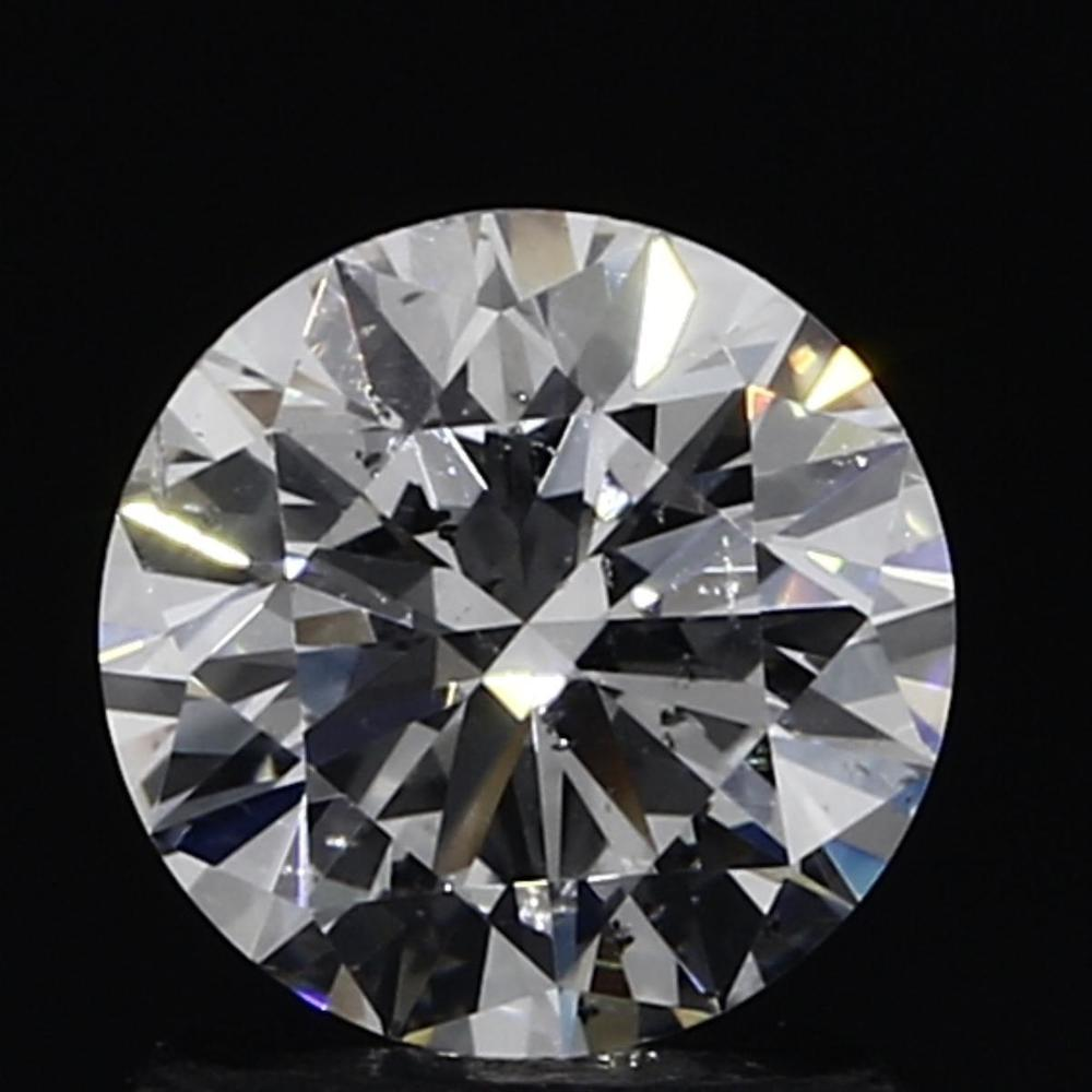 1.03 Carat Round Loose Diamond, E, SI1, Excellent, IGI Certified