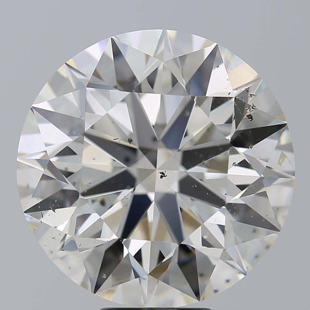10.00 Carat Round Loose Diamond, I, SI1, Super Ideal, IGI Certified