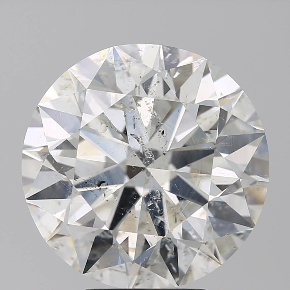 5.01 Carat Round Loose Diamond, I, SI2, Super Ideal, IGI Certified | Thumbnail