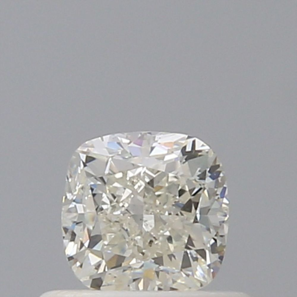 0.60 Carat Cushion Loose Diamond, J, VS2, Very Good, IGI Certified | Thumbnail