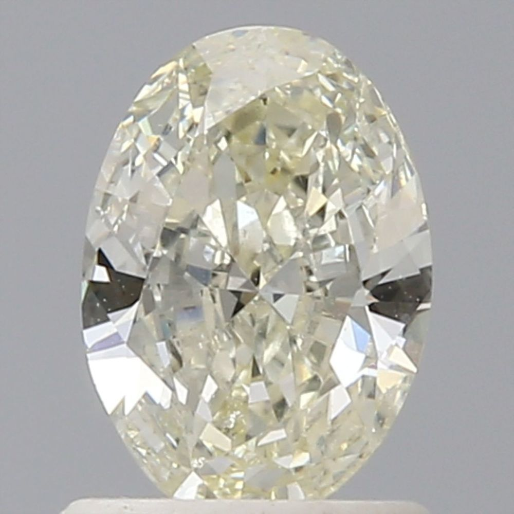 0.90 Carat Oval Loose Diamond, L, SI1, Excellent, IGI Certified