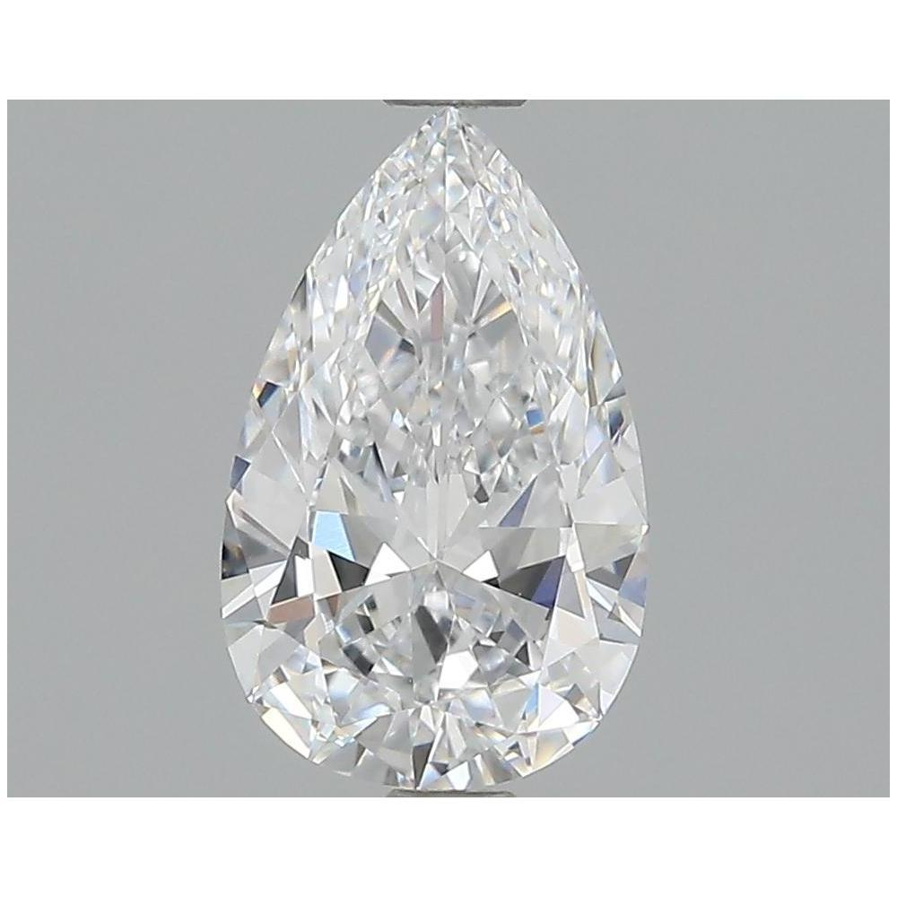 1.06 Carat Pear Loose Diamond, D, IF, Super Ideal, GIA Certified | Thumbnail