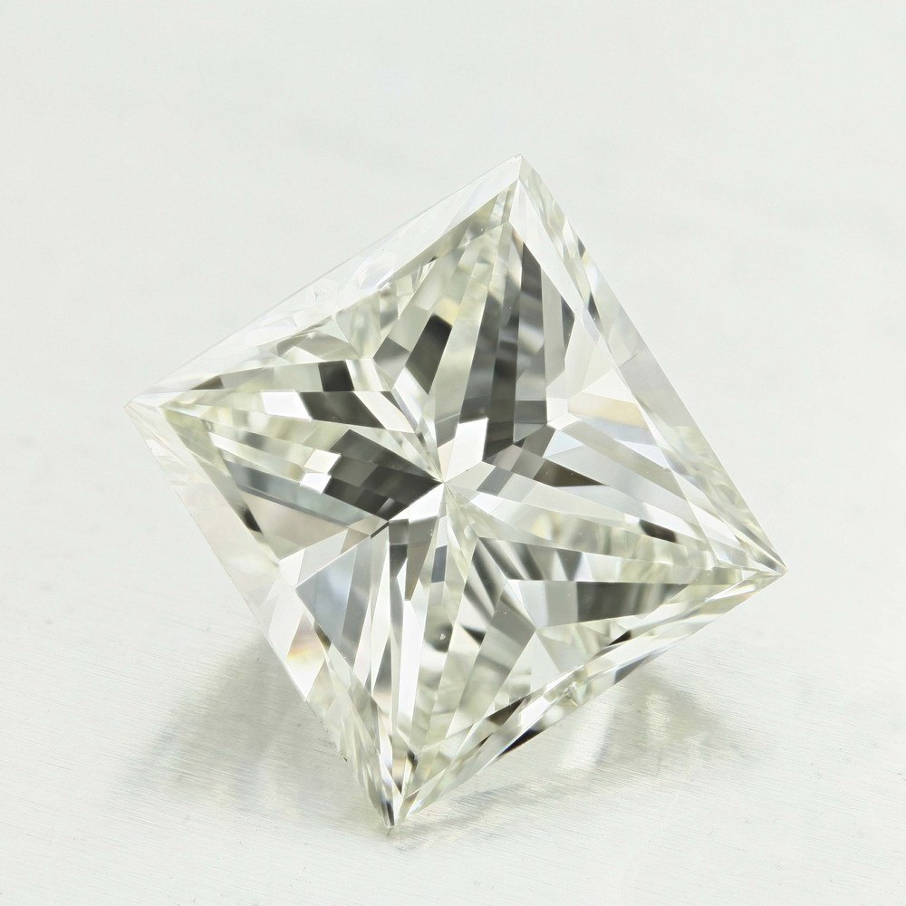 5.01 Carat Princess Loose Diamond, J, VVS1, Good, GIA Certified