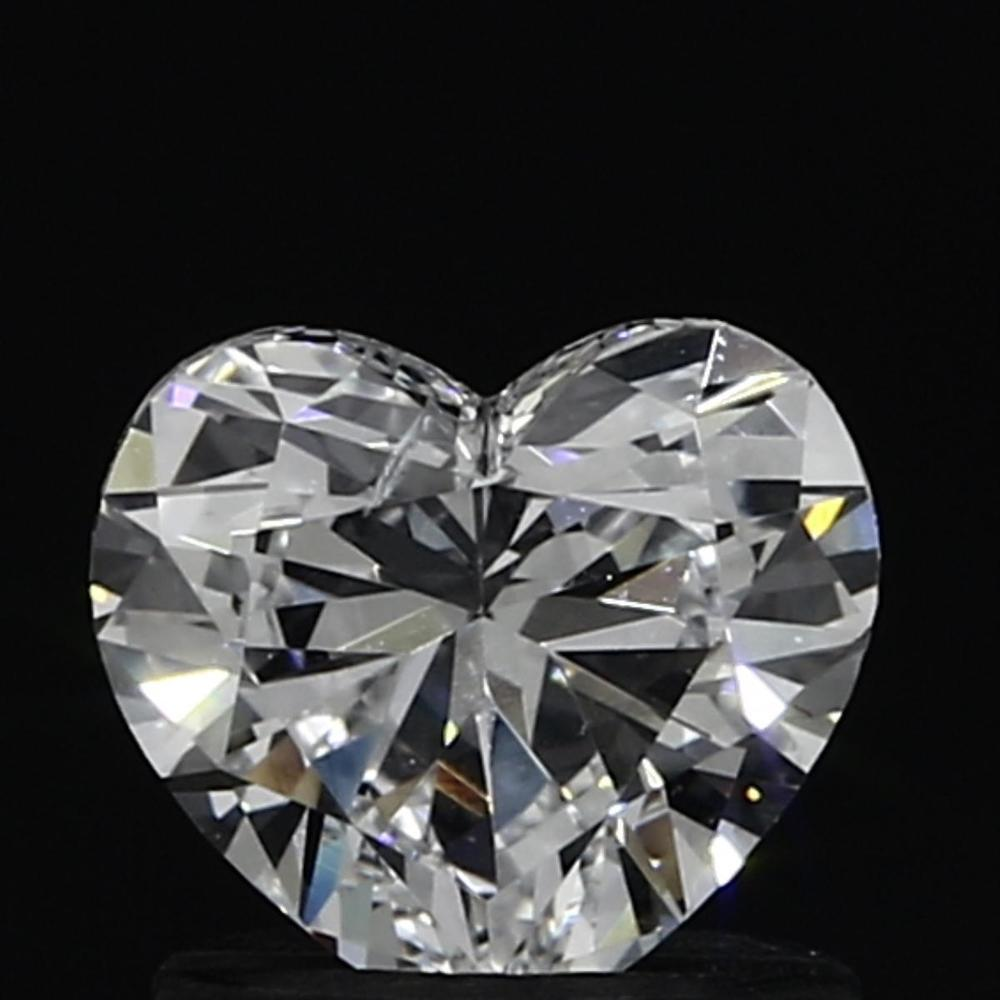0.90 Carat Heart Loose Diamond, D, SI1, Ideal, GIA Certified