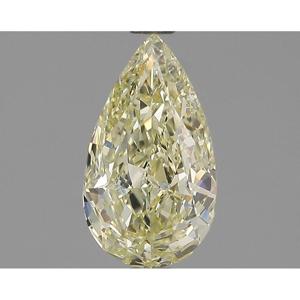 1.00 Carat Pear Loose Diamond, W-X, VS2, Ideal, GIA Certified