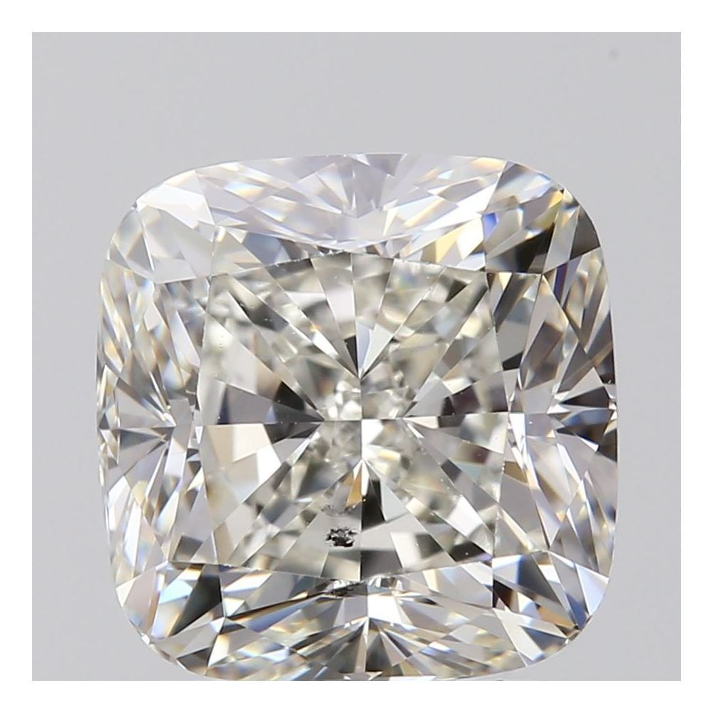 2.01 Carat Cushion Loose Diamond, I, SI2, Excellent, GIA Certified