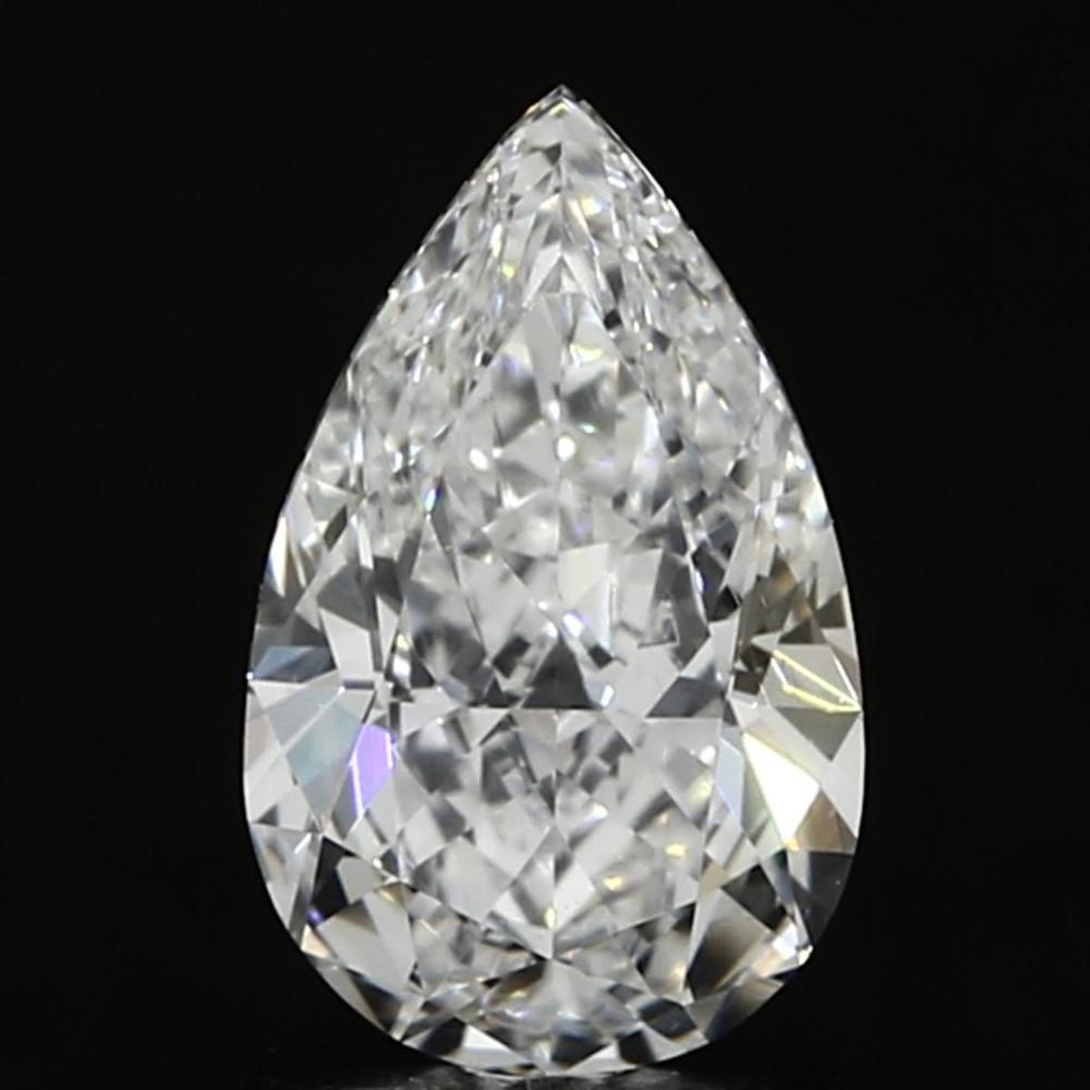 1.04 Carat Pear Loose Diamond, E, IF, Super Ideal, GIA Certified