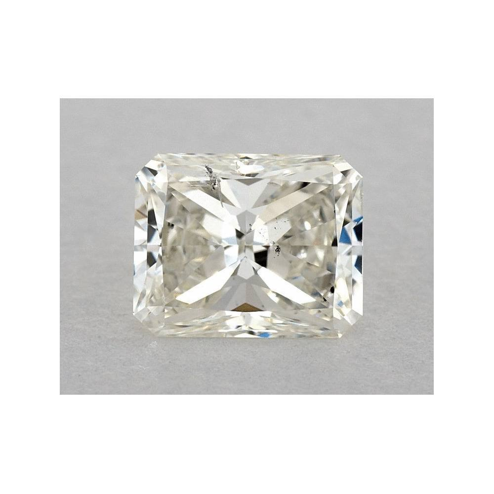 1.21 Carat Radiant Loose Diamond, I, SI2, Ideal, GIA Certified