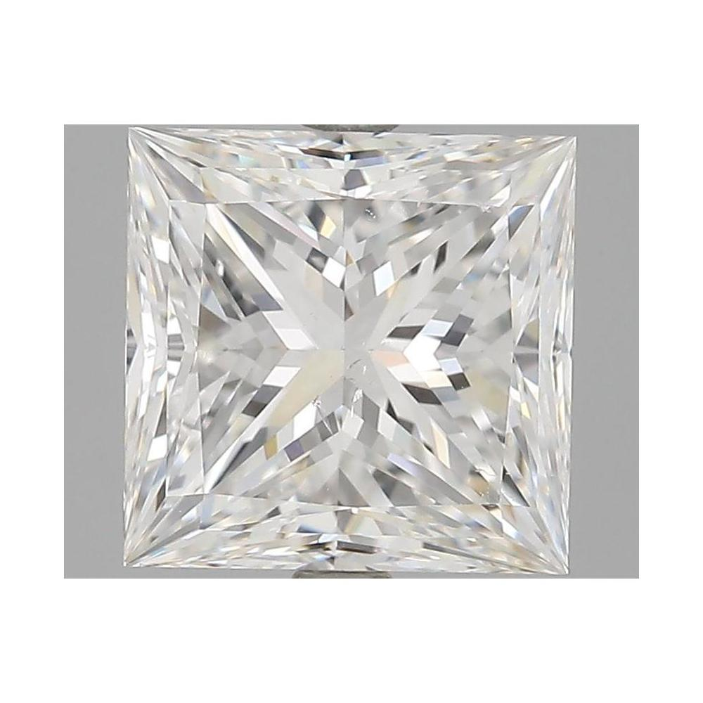 3.02 Carat Princess Loose Diamond, E, SI1, Super Ideal, GIA Certified